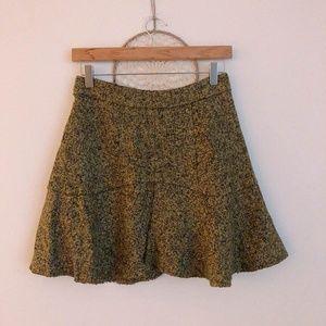Business Casual A-line Miniskirt